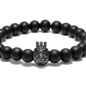 LION HEAD Beaded Bracelet